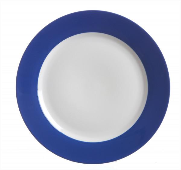 Speiseteller Doppio indigoblau (D 27 cm)