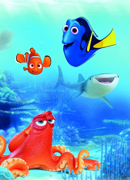 Fototapete Dory and Friends (BH 184x254 cm)