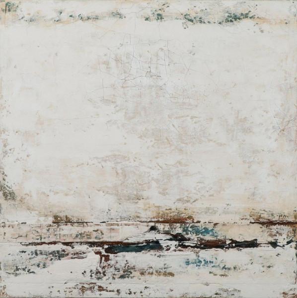 Gemälde Abstrakt in beige
