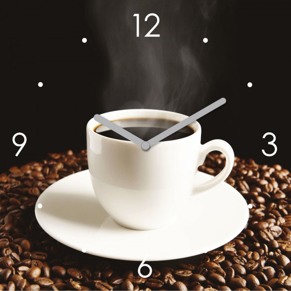 "Uhr ""Time for a cup"