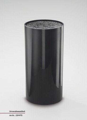 Messerblock schwarz