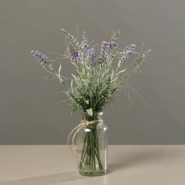 Kunstblume Lavendel-Arragemet