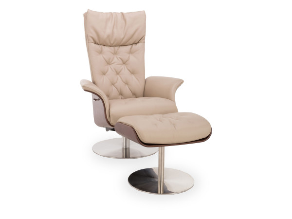 Relax Sessel+Hocker MONDO Logi