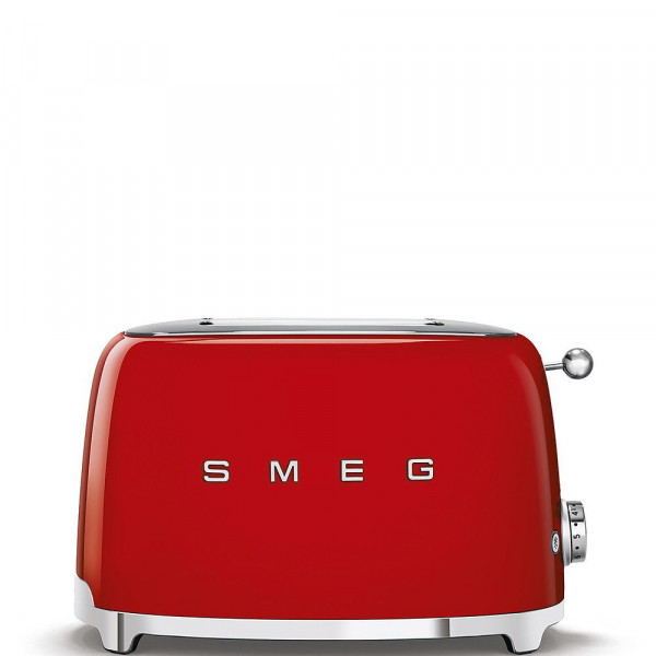 SMEG Kompakt Toaster rot