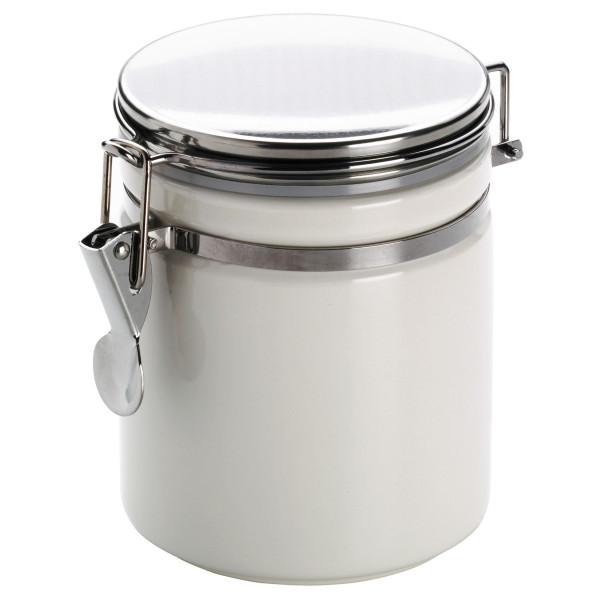 Vorratsdose Weiß (LBH 15x11x14 cm)