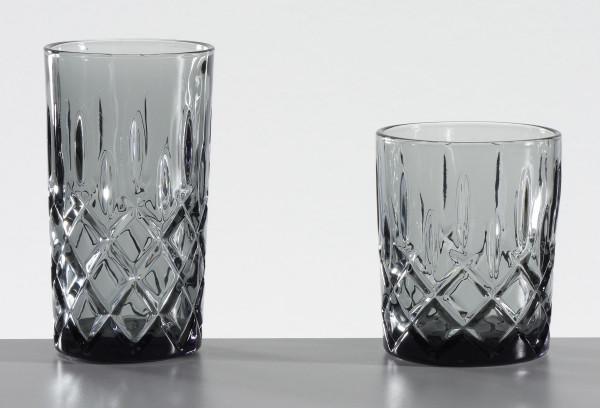 Trinkglas grau