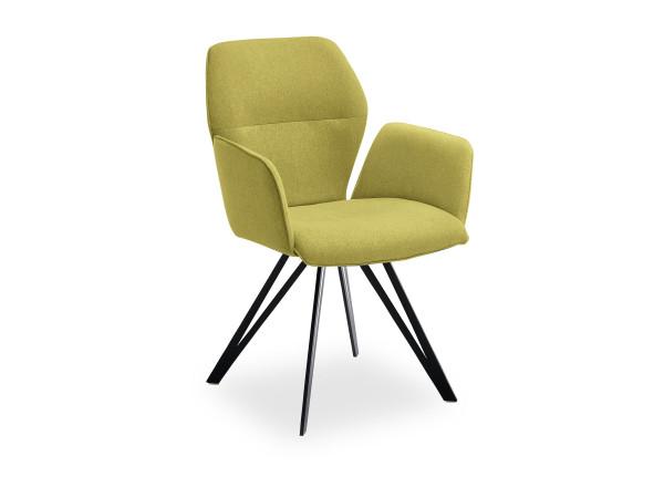 Design-Armlehnenstuhl Merlot