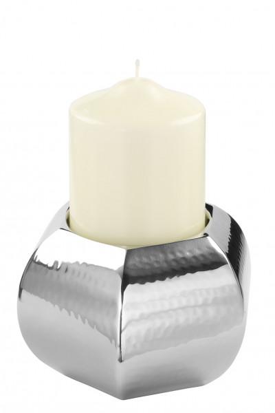 Kerzenhalter PIADA gehämmert (DH 13x10 cm)
