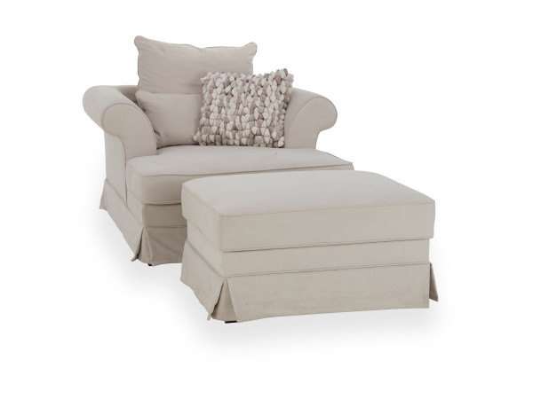 Loveseat u.Hocker Guyana