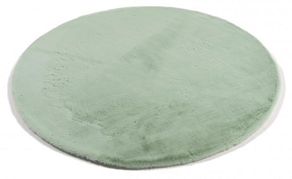 Teppich PLUSH rund grün