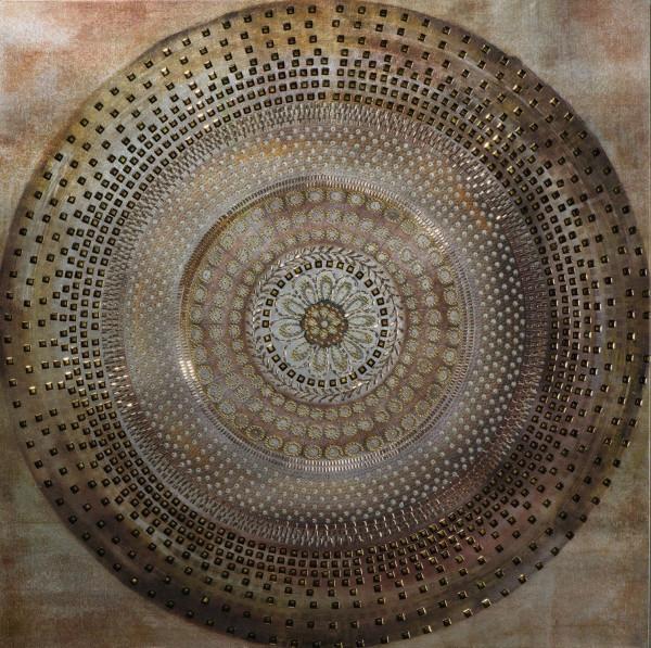 Pailetten Mandala