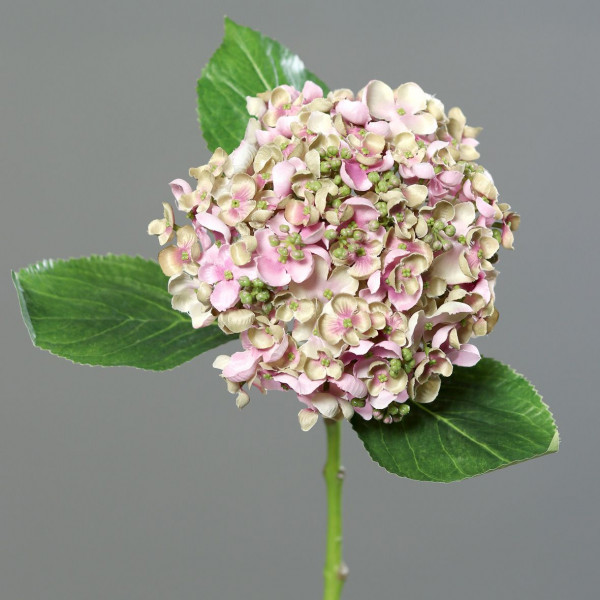 Kunstpflanze Hortensie pink
