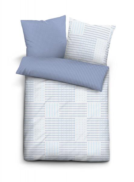 Bettwäsche Satin blau