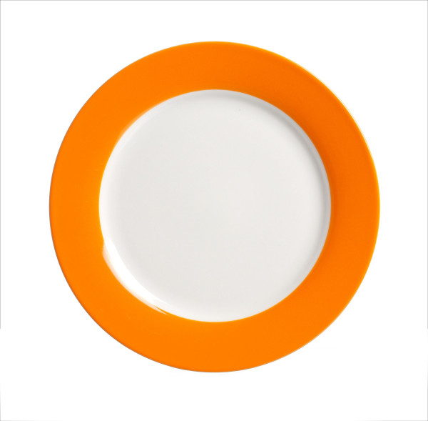 Dessertteller Doppio orange (D 20 cm)