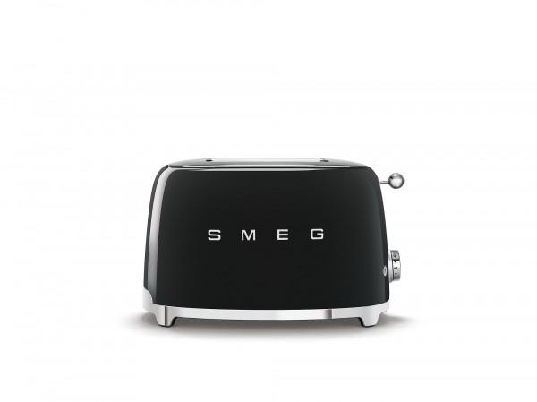 SMEG Kompakt Toaster schwarz