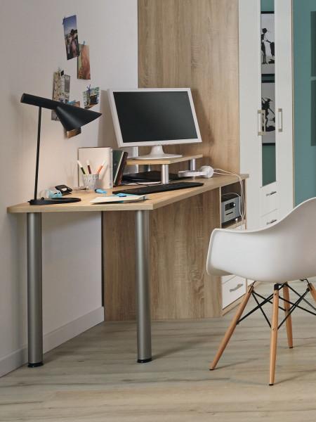 Schreibtischkombination Achat