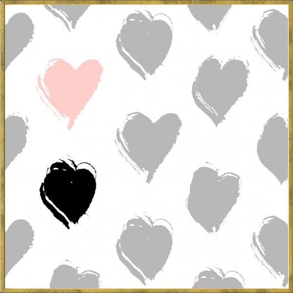 Gerahmtes-Bild HEART