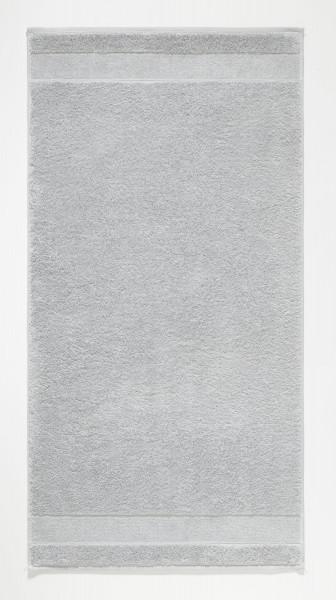 Handtuch uni platin (BL 50x100 cm)
