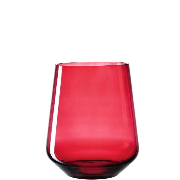 Windlicht Vivo rot (H 24 cm)