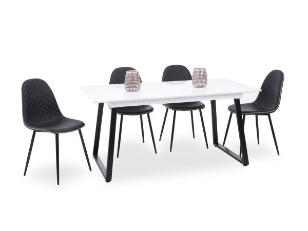 Tischgruppe Plato 5-teilig