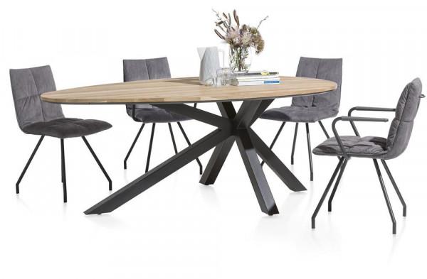 Tischgruppe Colombo/Farrel 5tl