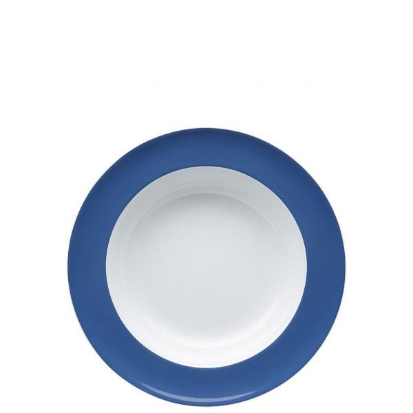 Suppenteller nordic blue