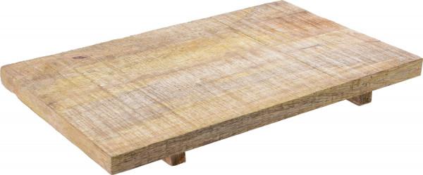 Tablett Holz (BHT 40,5x4x25 cm)