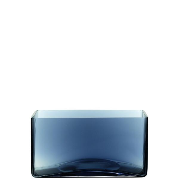 Dekogefäß Rechteck blau CENTRO
