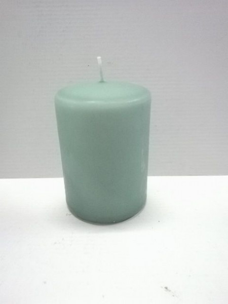 Kerze BASIC grün
