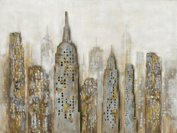 Gemälde Skyline