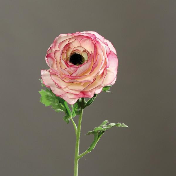 Kunstpflanze Ranunkel fuchsia