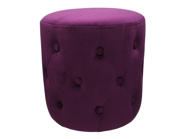 Hocker Pouf purple