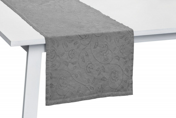 Tischläufer RONA grau